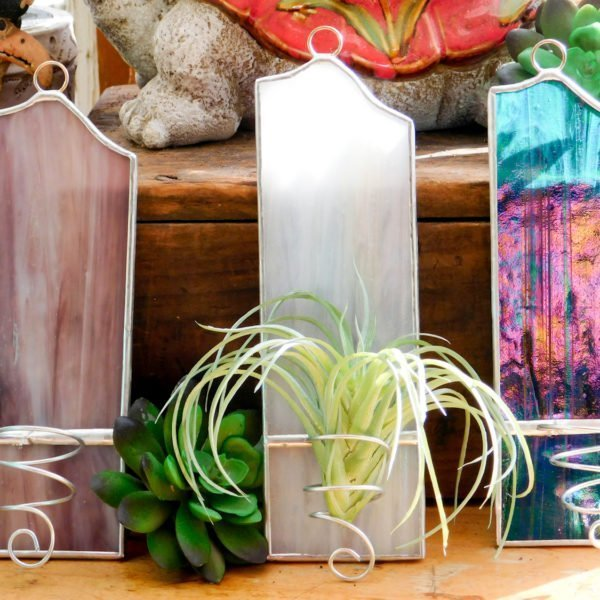 Air Plant Holders in Blue White or Purple
