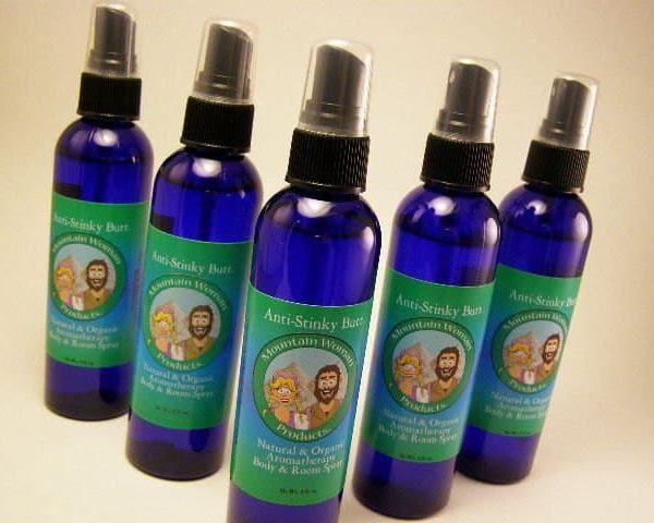 Anti-Stinky Butt Organic and Natural Aromatherapy Body & Room Spray